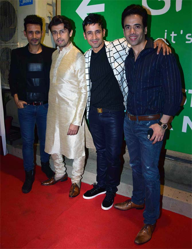 Meet Bros with Sonu Nigam and Tushar Kapoor