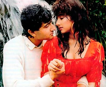 Vivek Mushran and Manisha Koirala in Saudagar
