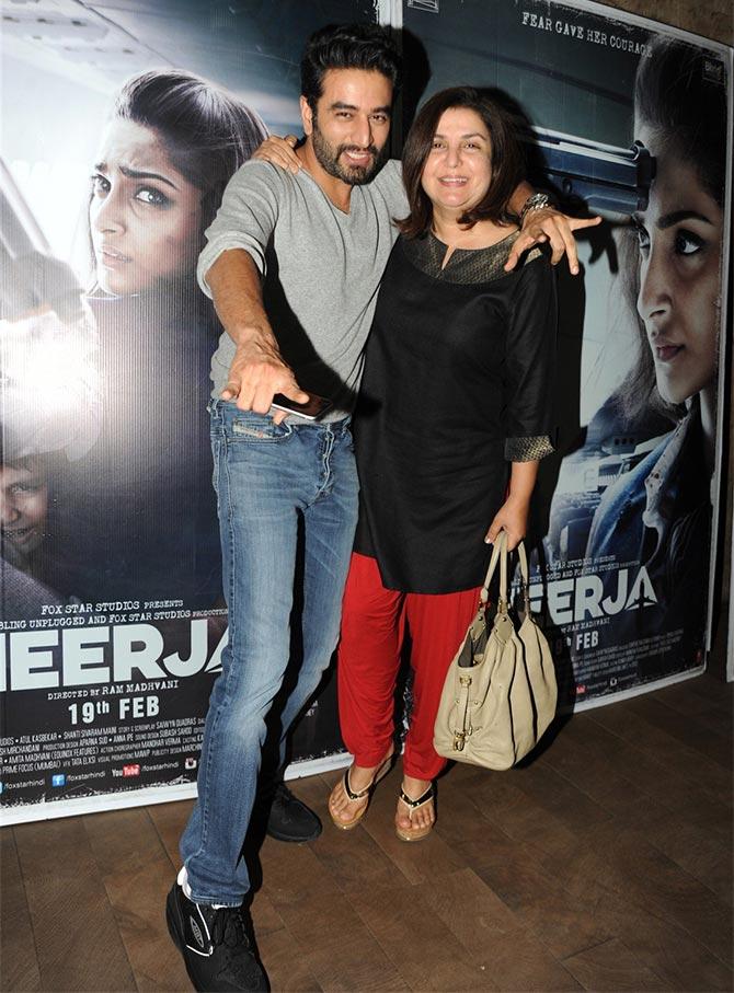 PIX: Athiya Shetty, Bhumi Pedenekar watch Neerja - Rediff ...  PIX: Athiya She...