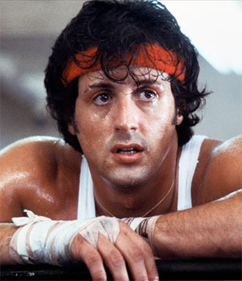 training sylvester stallone