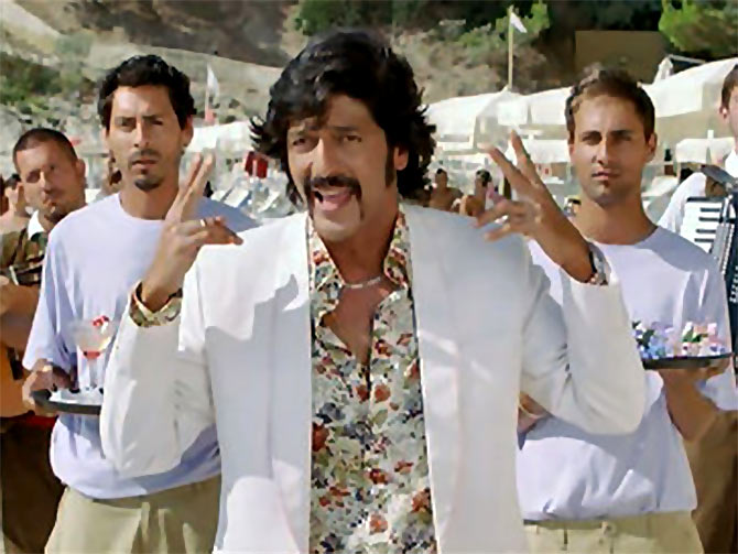 Chunky Pandey in Housefull