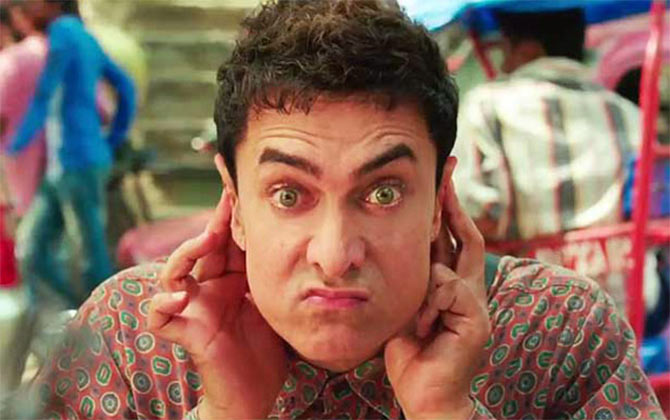 Aamir Khan in PK