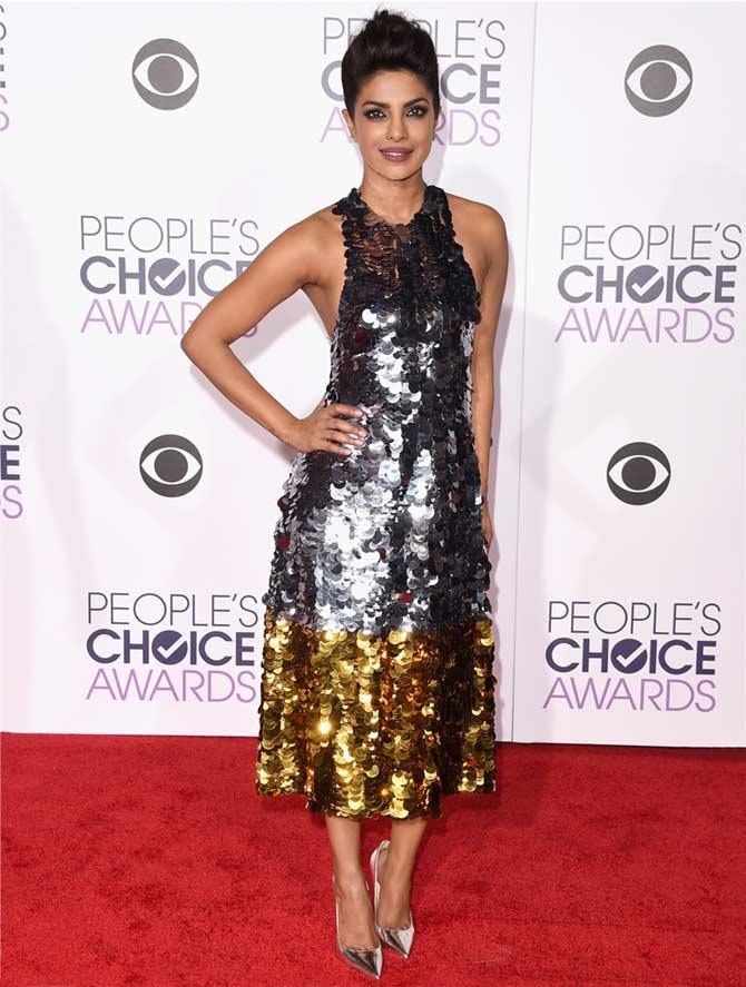 Priyanka Chopra at the People's Choice Awards