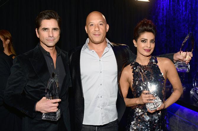 John Stamos, Vin Diesel and Priyanka Chopra