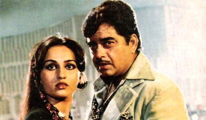 Reena Roy and Shatrughan Sinha