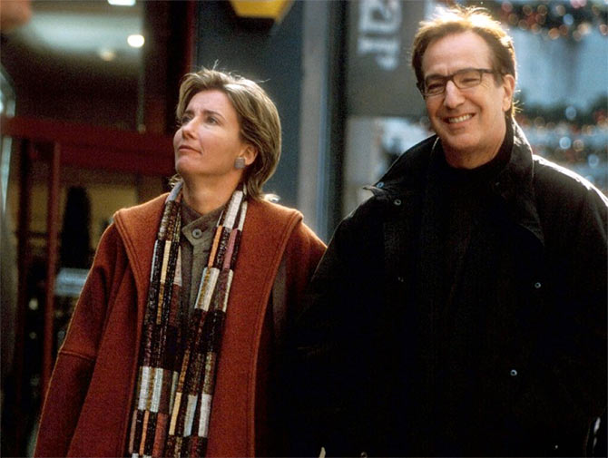 Emma Thompson and Alan Rickman