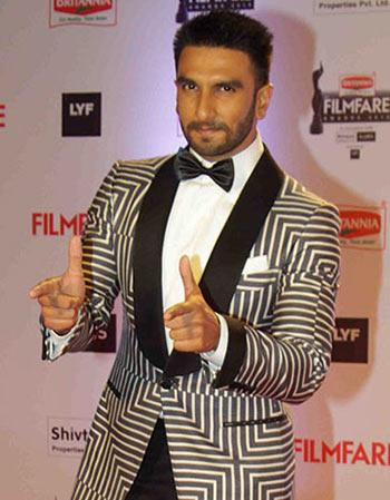 Current Bollywood News & Movies - Indian Movie Reviews, Hindi Music & Gossip - PIX: Ranveer, Salman, Bachchans at the Filmfare awards