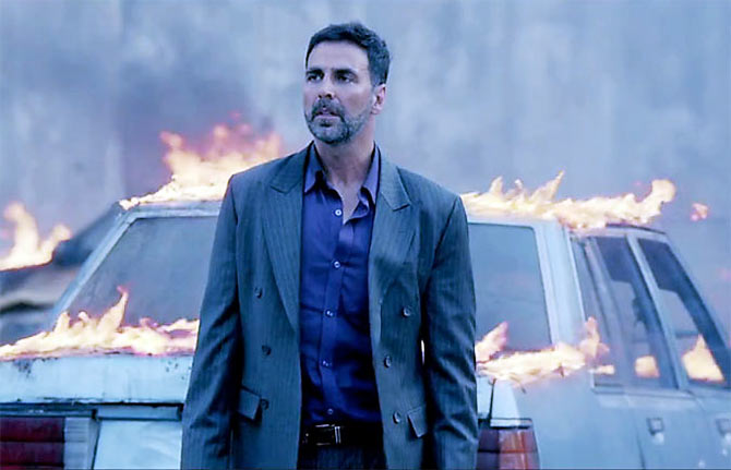 Akshay Kumar in Airlift.