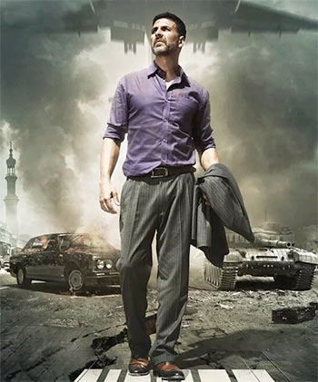Airlift (2016) – 720p – DVD-Rip – Hindi – x264 – AC3 – 5.1 – Mafiaking – M2Tv