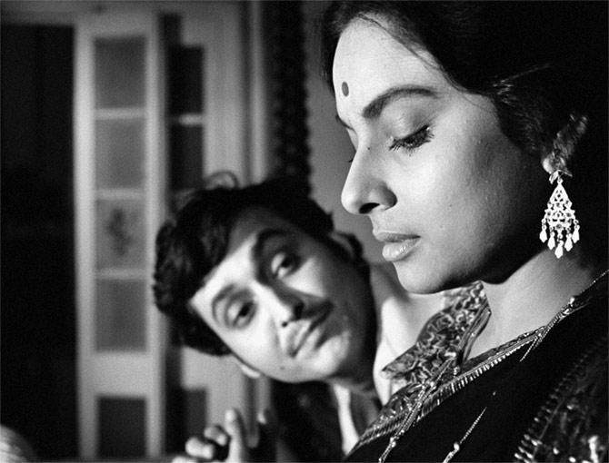 Soumitra Chatterjee is bigger than a Ray actor' - Rediff com movies