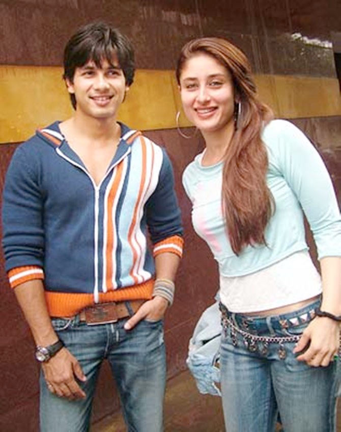 Shahid and Kareena Kapoor