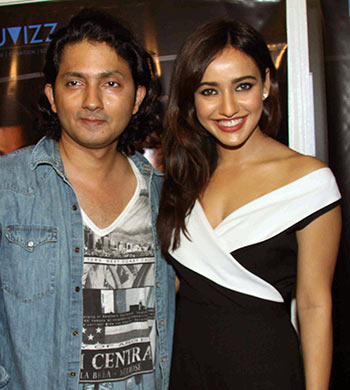 Shirish Kunder and Neha Sharma