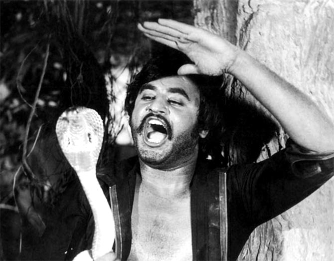 Rajinikanth in Bhairavi