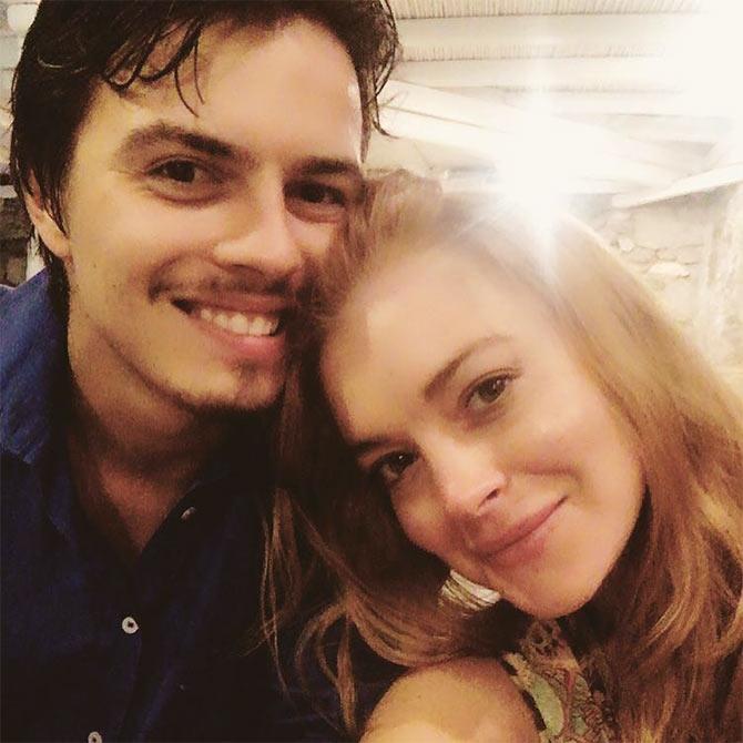 Lindsay Lohan slams fiance for cheating