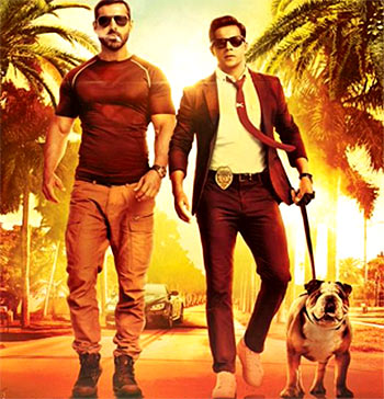 Current Bollywood News & Movies - Indian Movie Reviews, Hindi Music & Gossip - Review: Dishoom is Varun Dhawan all the way