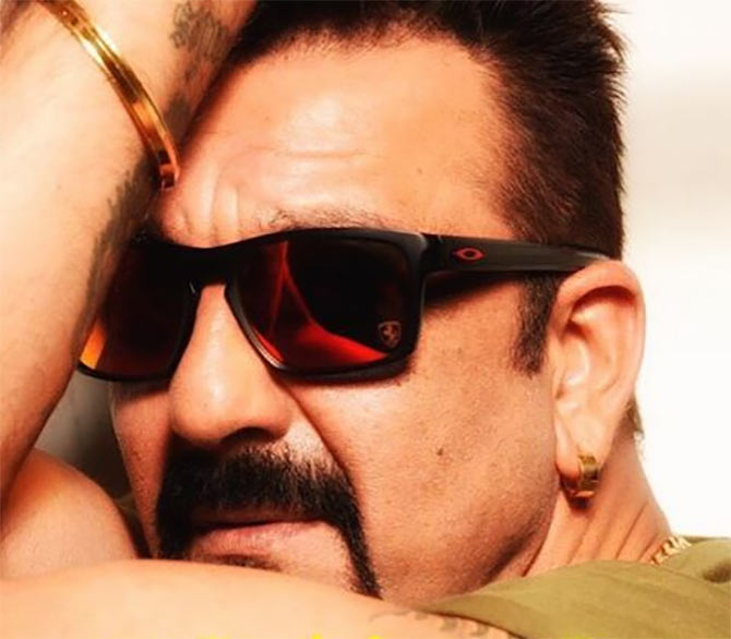Current Bollywood News & Movies - Indian Movie Reviews, Hindi Music & Gossip - PIX: Sanjay Dutt shoots with Dabboo Ratnani