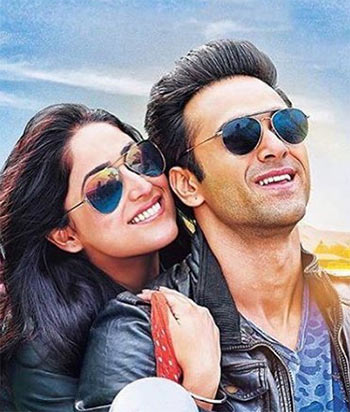 Yami Gautam and Pulkit Samrat in Junooniyat