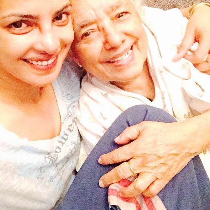 Current Bollywood News & Movies - Indian Movie Reviews, Hindi Music & Gossip - Row over Priyanka's grandma's funeral