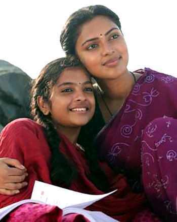 Amala Paul and Yuvasri in Amma Kanakku