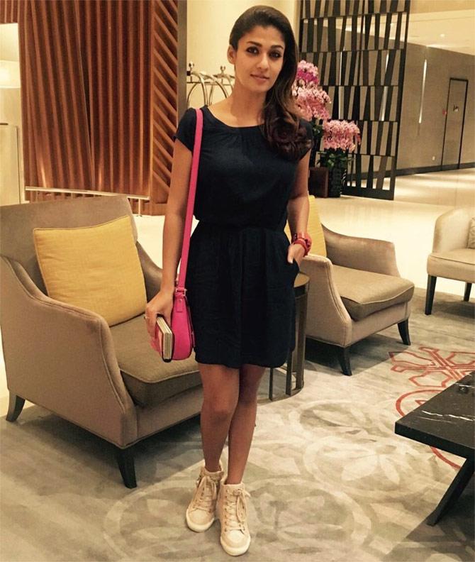 Current Bollywood News & Movies - Indian Movie Reviews, Hindi Music & Gossip - SIIMA 2016: Nayanthara, Shruti Haasan arrive in Singapore