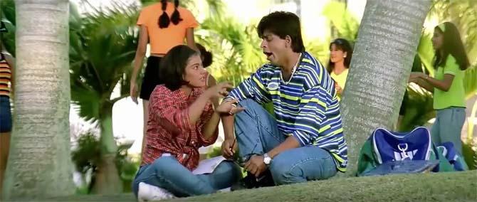 kajol, Shah Rukh Khan