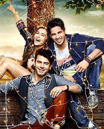 Alia Bhatt, Fawad Khan, Siddharth Malhotra in Kapoor & Sons