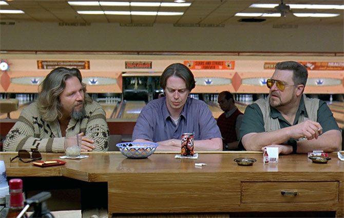 A scene from the Coen Brothers' The Big Lebowski