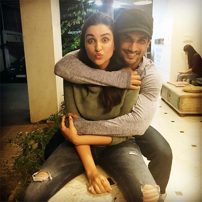 Sushant Singh Rajput S Latest Instagram Picture Is Going: Sushant: Miss Working With Parineeti!