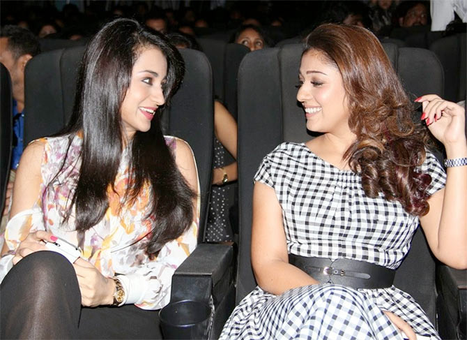 Nayanthara's misfortune is Trisha' pick up?