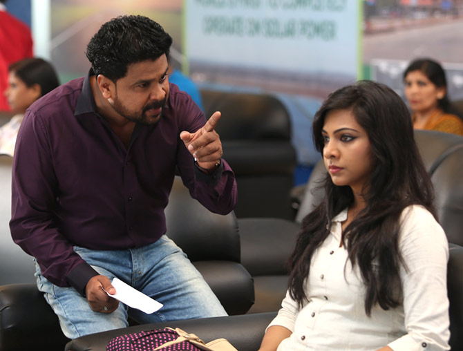 Dileep and Madonna Sebastian in King Liar