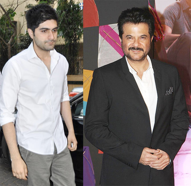 Harshvardhan Kapoor and Anil Kapoor
