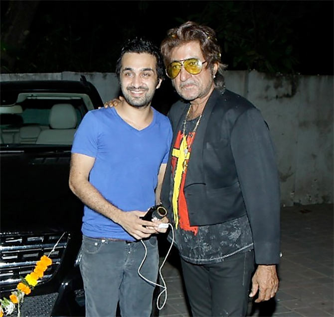 Sidhanth and Shakti Kapoor