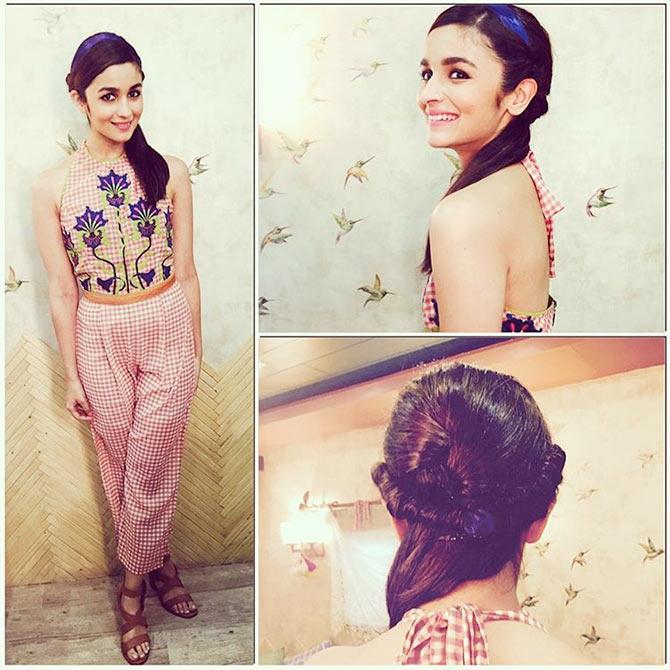 18 Hairstyle tips from Alia Bhatt! - Rediff.com Movies
