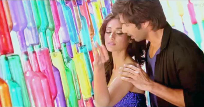 Ileana D'Cruz and Shahid Kapoor