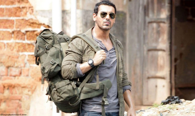 John Abraham in Rocky Handsome
