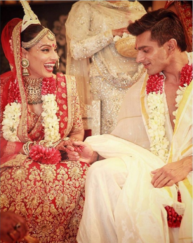 Candid Pictures From Bipasha Karans DREAMY Wedding