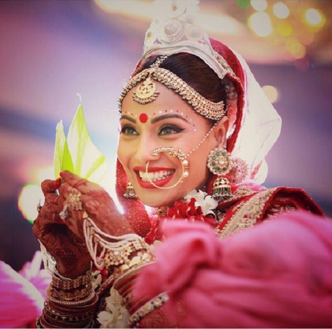 Image result for bipasha basu wedding pic