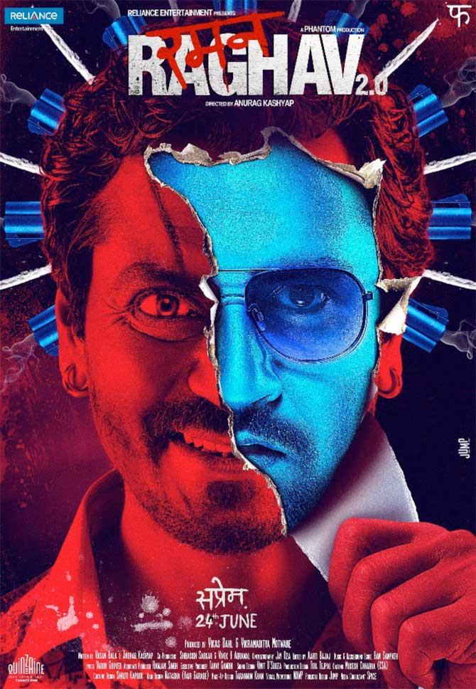 Current Bollywood News & Movies - Indian Movie Reviews, Hindi Music & Gossip - Raman Raghav 2.0 Trailer: Nawazuddin's back, and scarier than ever
