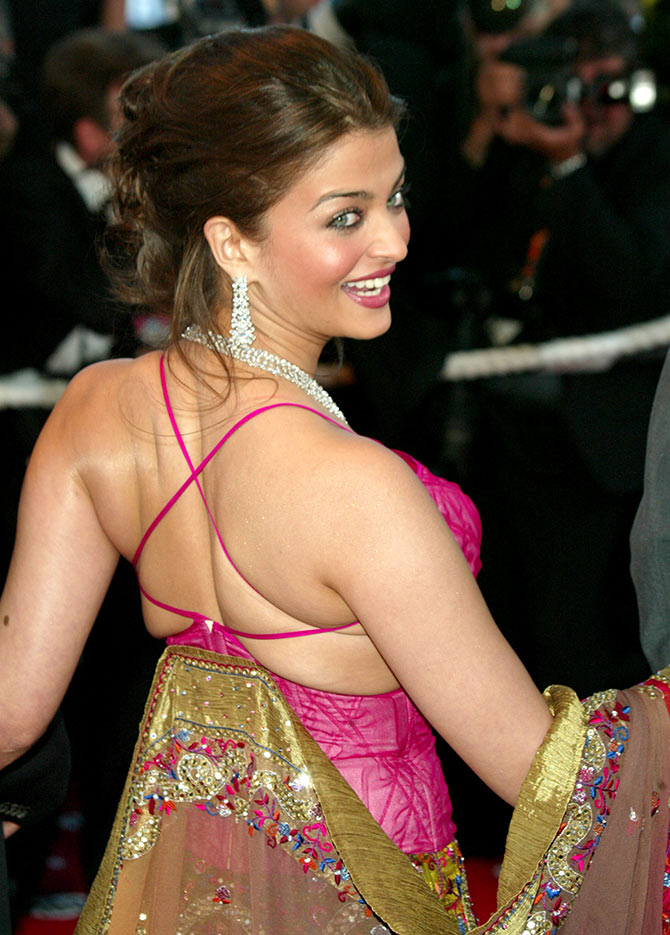 PIX Aishwarya In Cannes 15 Years On Rediffcom Movies