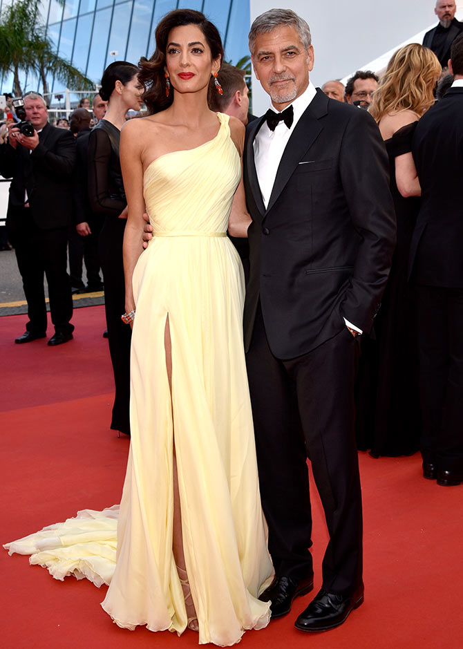 Current Bollywood News & Movies - Indian Movie Reviews, Hindi Music & Gossip - Cannes 2016: George Clooney, Amal walk the red carpet