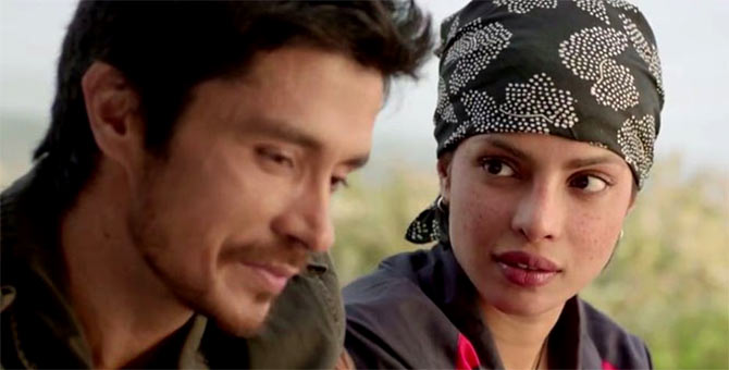 Darshan Kumar and Priyanka Chopra