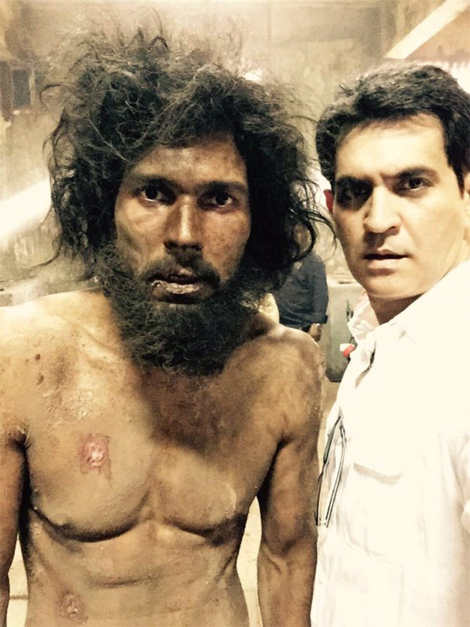 Randeep Hooda and Omung Kumar