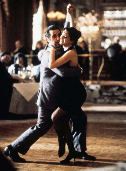 Gabrielle Anwar and Al Pacino in Scent of A Woman