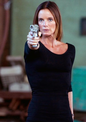 Gabrielle Anwar in Burn Notice.
