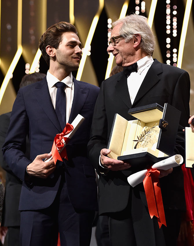 Ken Loach, Xavier Dolan win at Cannes