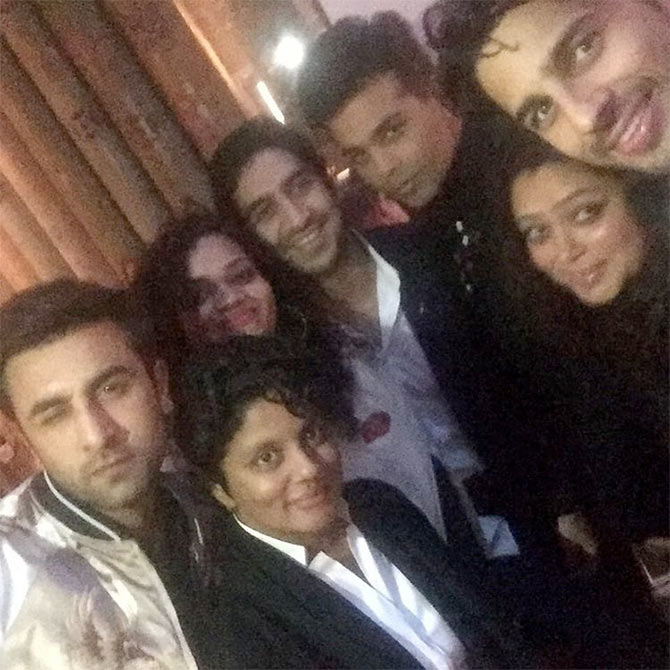 Karan Johar birthday bash