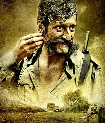 Sandeep Bhardwaj in Veerappan