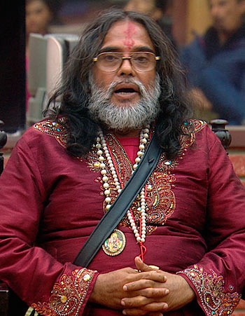 Swami Om in the Bigg Boss 10 house