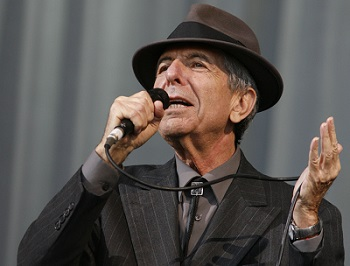 Leonard Cohen passes into the ages