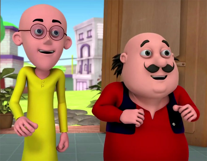 Make way for Indi toons - Rediff.com Movies
